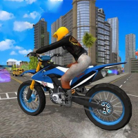 City Bike Stunt Racing