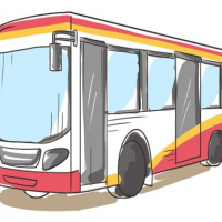 Cartoon Bus Slide