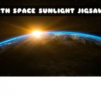 EARTH SPACE SUNLIGHT JIGSAW
