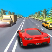 Highway Driving Car Racing Game 2020