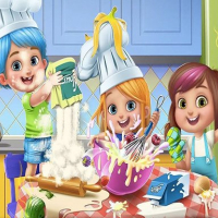 LITTLE GIRLS KITCHEN TIME